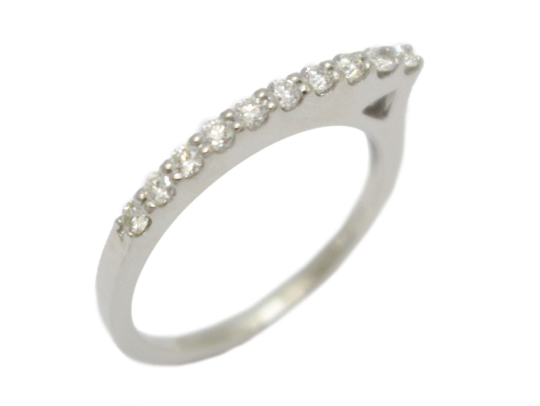 【中古】【送料無料】ジュエリー ダイヤモンド リング 指輪 レディース PT900 プラチナ×ダイヤモンド(0.23ct)   JEWELRY 美品 ブランドオフ BRANDOFF