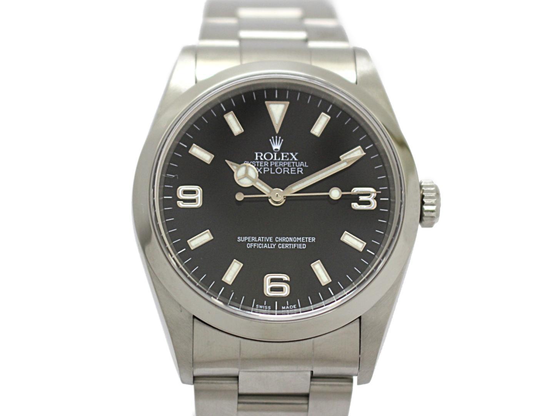 【中古】【送料無料】ロレックス エクスプローラー1 メンズ ウォッチ 腕時計 メンズ ステンレススチール(SS) (14270) | ROLEX オートマチック 自動巻き ブランド 美品 ブランドオフ BRANDOFF