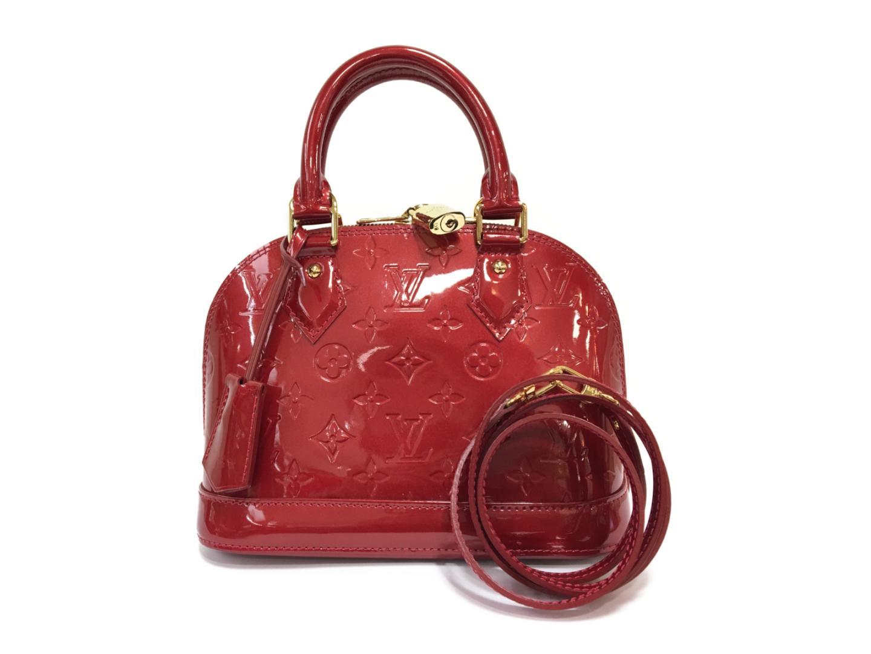 【中古】【送料無料】ルイヴィトン アルマBB 2wayショルダーバッグ レディース ヴェルニ ポムダムール (M91606) | LOUIS VUITTON ショルダーバック 肩がけ ショルダー バッグ バック 鞄 かばん ブランドバッグ BAG ブランド 美品 ブランドオフ BRANDOFF