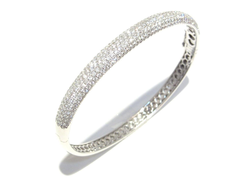 【中古】【送料無料】ジュエリー ダイヤモンド ブレスレット レディース K18WG(750) ホワイトゴールド x ダイヤモンド(2.66ct) | JEWELRY ブレスレット K18 18K 18金 美品 ブランドオフ BRANDOFF