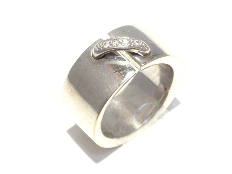 【中古】【送料無料】ショーメ リアン・ドゥ・ショーメ 6Pダイヤ リング 指輪 レディース K18WG(750) ホワイトゴールド x ダイヤモンド | CHAUMET リング K18 18K 18金 美品 ブランド ブランドオフ BRANDOFF