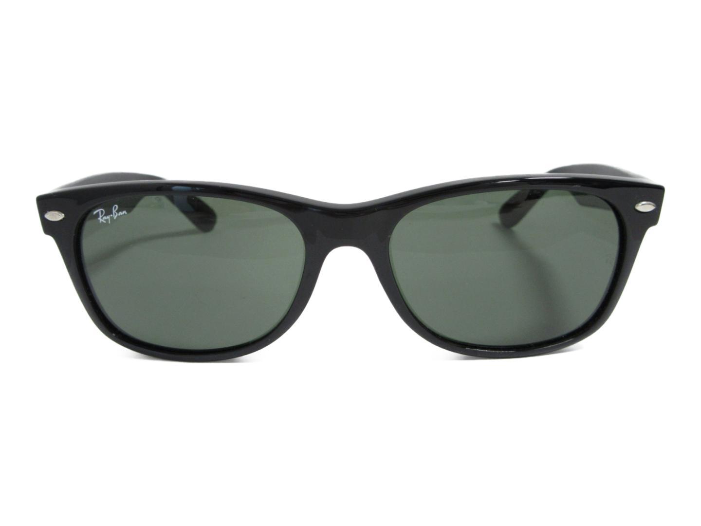 【中古】レイバン ニュー ウェイファーラー サングラス レディース プラスチック ブラック (RB2132) | Ray Ban サングラス 美品 ブランド ブランドオフ BRANDOFF
