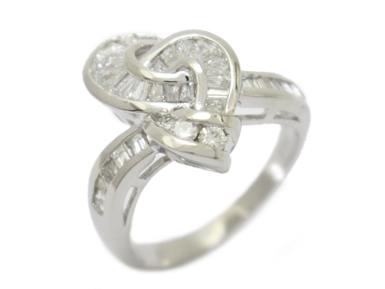 【中古】【送料無料】ジュエリー ダイヤモンド リング 指輪 レディース PT900 プラチナ×ダイヤモンド(1.07ct) | JEWELRY リング 美品 ブランドオフ BRANDOFF