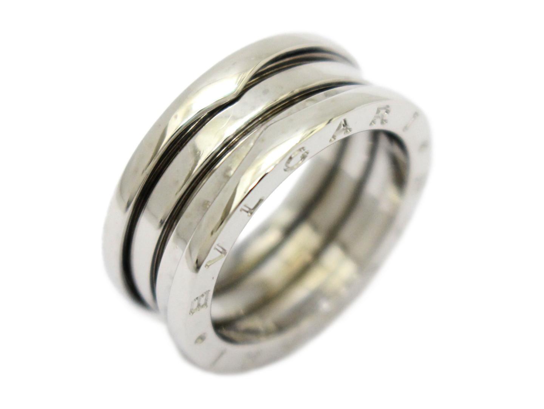 【中古】【送料無料】ブルガリ B-zero1 リング Sサイズ 指輪 レディース K18WG(750) ホワイトゴールド | BVLGARI リング K18 18K 18金 美品 ブランド ブランドオフ BRANDOFF
