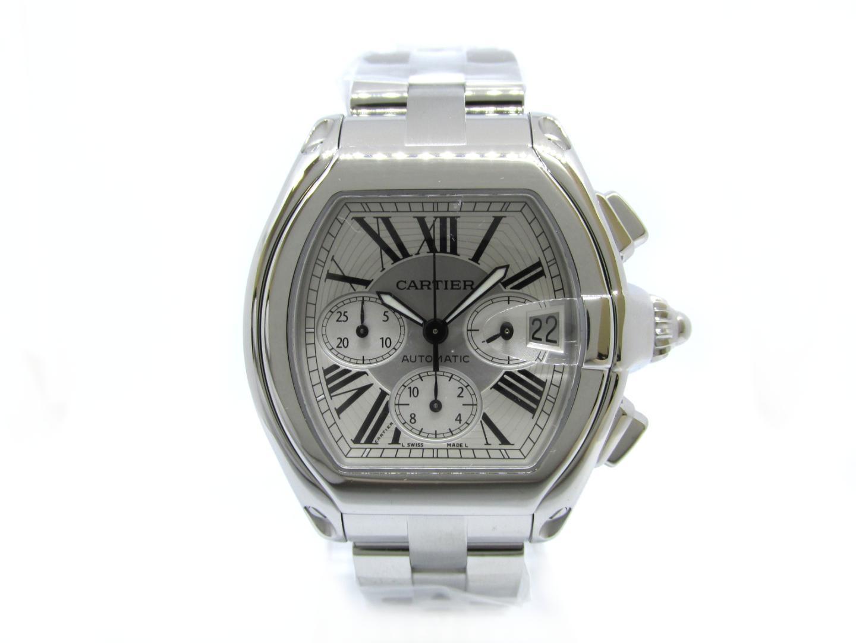 【中古】【送料無料】カルティエ ロードスタークロノ 腕時計 ウォッチ メンズ メンズ ステンレススチール(SS) シルバー (W62019X6) | Cartier オートマチック 自動巻き 時計 WATCH 美品 ブランド ブランドオフ BRANDOFF