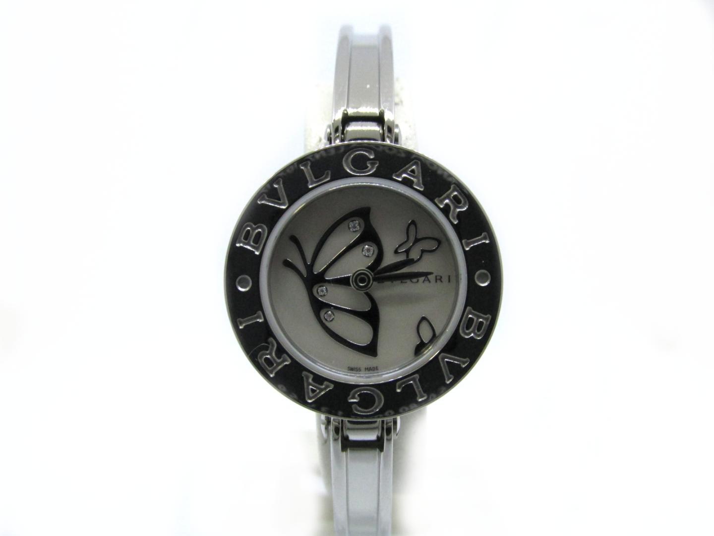 【中古】【送料無料】ブルガリ B-zero1 バタフライ4Pダイヤ 腕時計 ウォッチ レディース ステンレススチール(SS) シルバー (BZ22BSS.S)   BVLGARI クオーツ 時計 WATCH 美品 ブランド ブランドオフ BRANDOFF