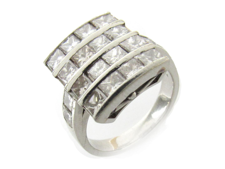 【中古】【送料無料】ジュエリー ダイヤモンド リング 指輪 レディース PT900 プラチナ x ダイヤモンド(3.07ct) | JEWELRY リング 美品 ブランドオフ BRAND OFF