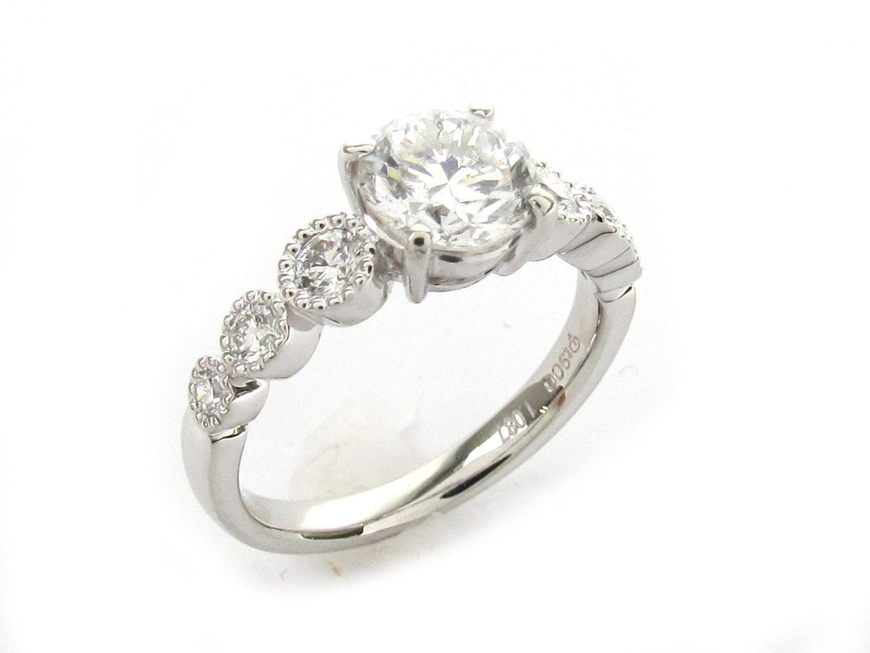 【中古】【送料無料】ジュエリー ダイヤモンド リング 指輪 レディース PT900 プラチナ x ダイヤモンド1.087/03.4ct | JEWELRY リング 美品 ブランドオフ BRANDOFF