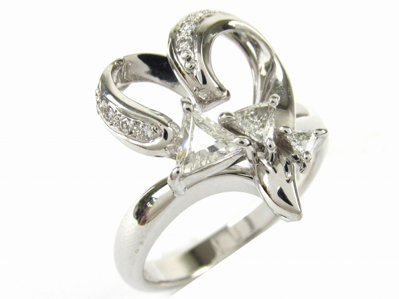 【中古】【送料無料】ジュエリー ダイヤモンド リング 指輪 レディース K18WG(750) ホワイトゴールド x ダイヤモンド1.02ct | JEWELRY リング 美品 18K K18 18金 ブランドオフ BRAND OFF