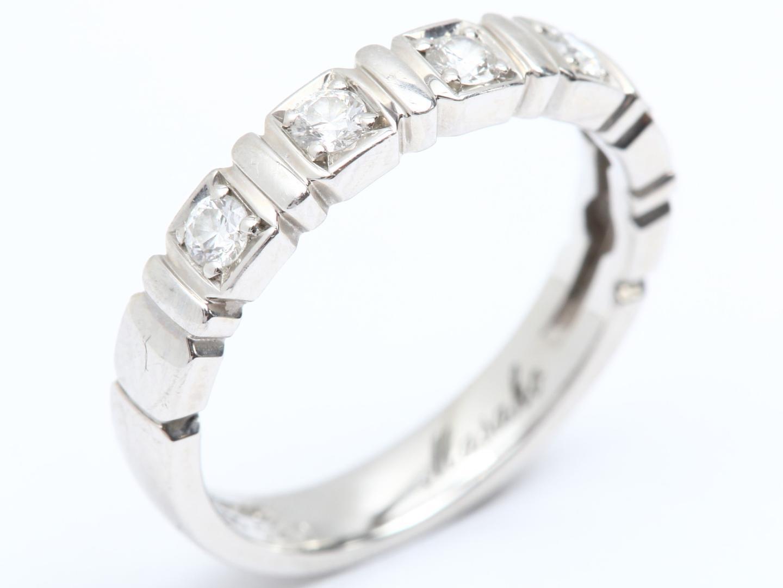 【中古】【送料無料】ジュエリー Ambrose ダイヤモンド リング 指輪 レディース PT900 プラチナ x ダイヤモンド (0.20ct) | JEWELRY リング 美品 ブランドオフ BRAND OFF