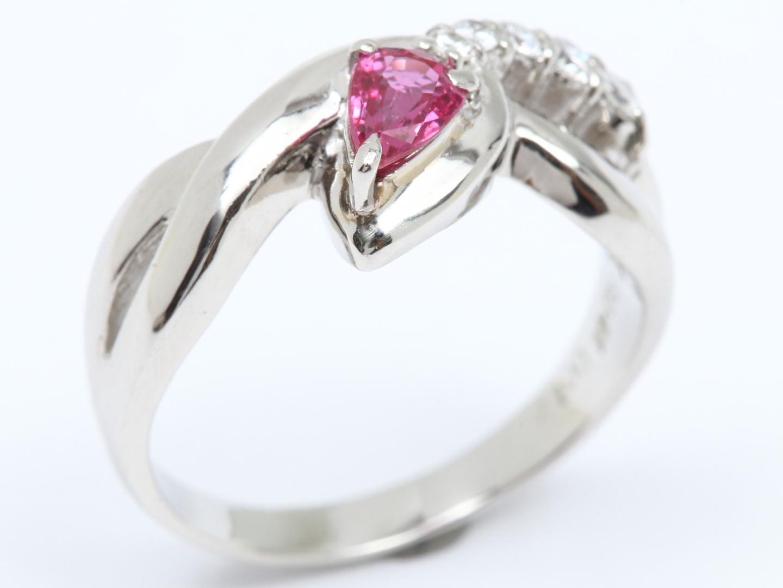 【中古】【送料無料】ジュエリー ルビー ダイヤモンド リング 指輪 レディース PT900 プラチナ x ルビー(0.41ct) x ダイヤモンド(0.12ct) | JEWELRY リング 美品 ブランドオフ BRAND OFF