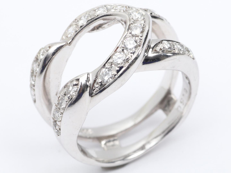 【中古】【送料無料】ジュエリー ダイヤモンド リング 指輪 レディース PT900 プラチナ x ダイヤモンド (0.50ct) | JEWELRY リング 美品 ブランドオフ BRAND OFF