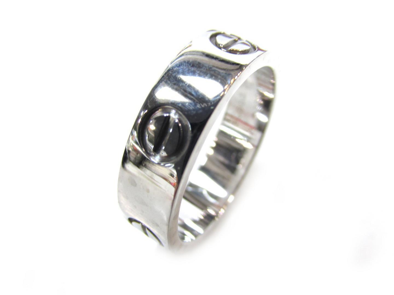 【中古】【送料無料】カルティエ ラブリング 指輪 レディース K18WG(750) ホワイトゴールド | Cartier リング ジュエリー 美品 18K K18 18金 ブランド ブランドオフ BRAND OFF