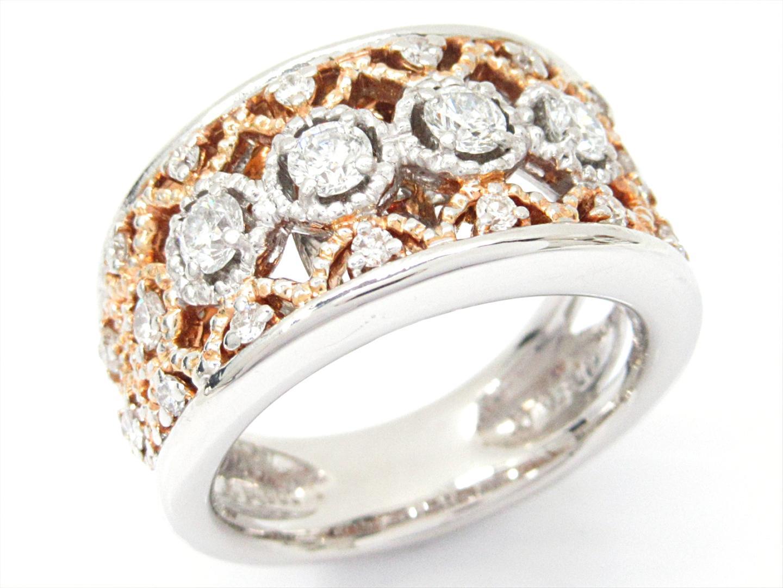 【中古】【送料無料】サザンクロス ダイヤモンドリング 指輪 メンズ レディース PT900 プラチナxダイヤモンド(0.80ct) | JEWELRY リング 美品 ブランドオフ BRAND OFF