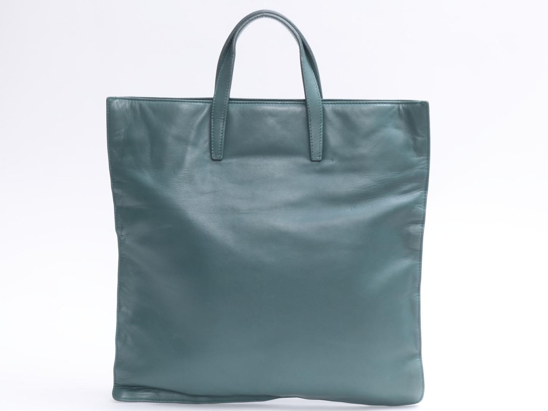 【中古】ロエベ ハンドバッグ レディース レザー グリーン | LOEWE ハンドバック 手提げ バッグ バック 鞄 かばん ブランドバッグ ブランドバック BAG 美品 ブランド ブランドオフ BRAND OFF