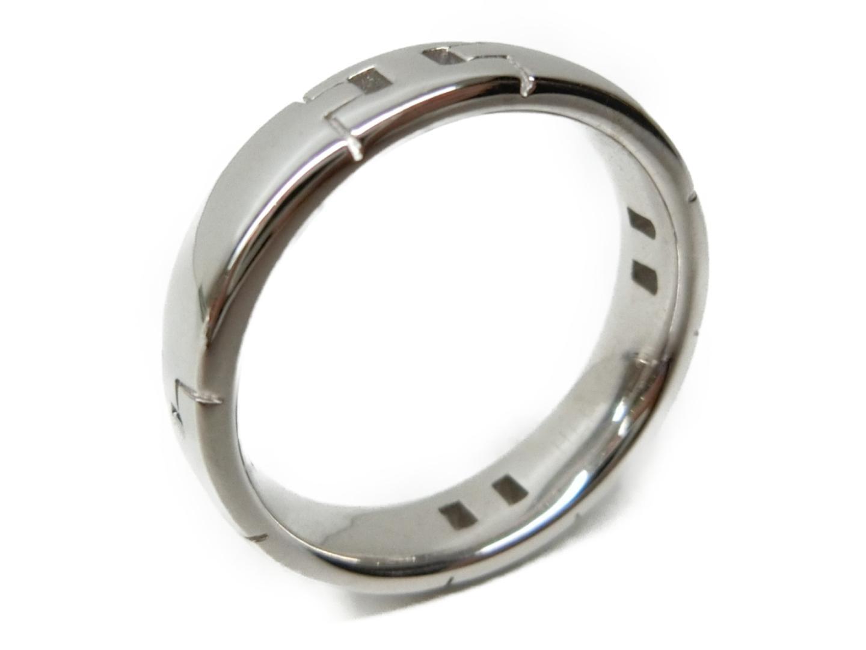 【中古】【送料無料】エルメス ヘラクレスリング 指輪 レディース K18WG(750) ホワイトゴールド シルバー | HERMES リング ジュエリー 美品 18K K18 18金 ブランド ブランドオフ BRAND OFF