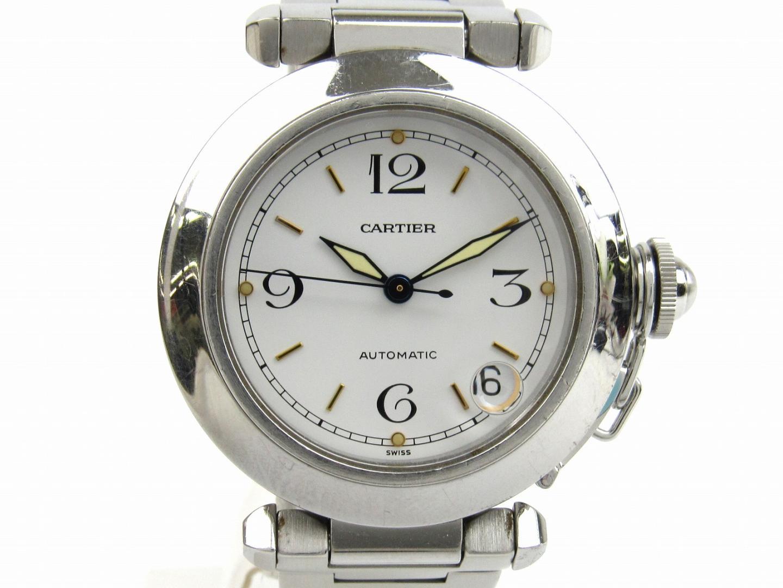 【中古】【送料無料】カルティエ パシャC ウォッチ 腕時計 メンズ ステンレススチール(SS) (W31015M7 ) | Cartier オートマチック 自動巻き 時計 WATCH 美品 ブランド ブランドオフ BRAND OFF