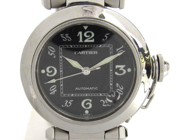 【中古】【送料無料】カルティエ パシャC ウォッチ 腕時計 ボーイズ メンズ レディース ステンレススチール(SS) (W31076M7) | Cartier オートマチック 自動巻き 時計 WATCH 美品 ブランド ブランドオフ BRAND OFF
