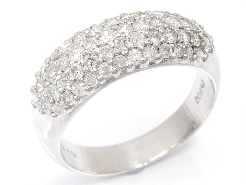 【中古】【送料無料】ジュエリー ダイヤモンドリング 指輪 レディース PT900 プラチナxダイヤモンド(0.99ct) | JEWELRY リング 美品 ブランドオフ BRAND OFF