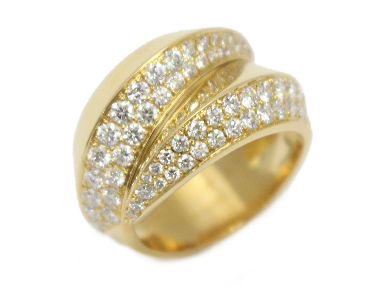 【中古】【送料無料】カルティエ パンテールグリフ ダイヤモンド リング 指輪 レディース K18YG(750) イエローゴールド×ダイヤモンド | Cartier リング ジュエリー 美品 18K K18 18金 ブランド ブランドオフ BRAND OFF