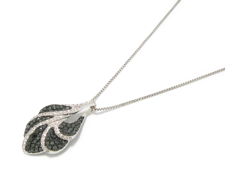 【中古】【送料無料】ジュエリー ダイヤモンド ネックレス レディース K18WG(750) ホワイトゴールド x ダイヤモンド (1.50ct) | JEWELRY ネックレス 美品 18K K18 18金 ブランドオフ BRAND OFF
