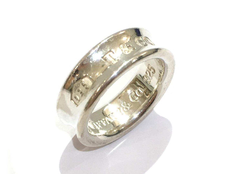【中古】ティファニー 1837リング 指輪 メンズ レディース 925 | TIFFANY&CO リング 美品 ブランド ブランドオフ BRANDOFF