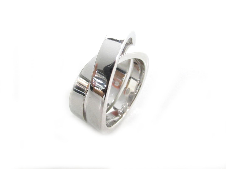 【中古】【送料無料】カルティエ パリリング 指輪 レディース K18WG(750) ホワイトゴールド | Cartier リング 美品 ブランド ブランドオフ BRANDOFF