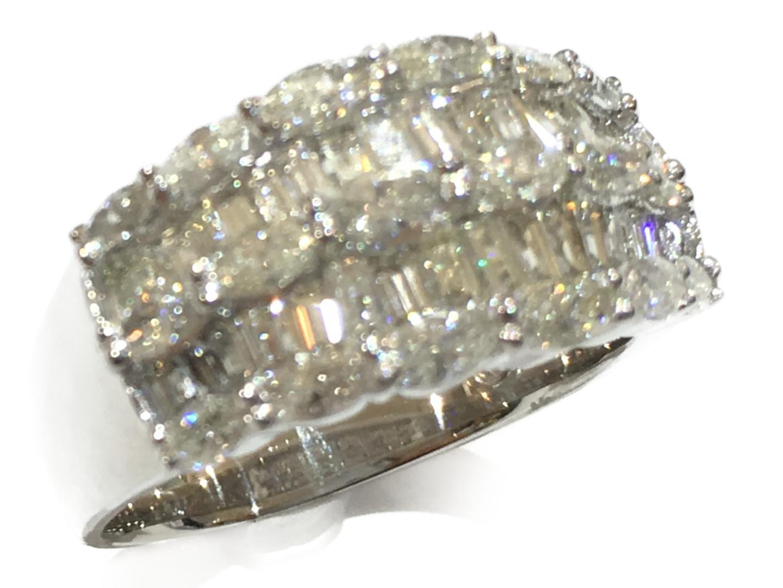 【中古】【送料無料】ジュエリー ダイヤモンドリング 指輪 レディース PT900 プラチナ×ダイヤモンド(2.05ct) | JEWELRY リング 美品 ブランドオフ BRANDOFF