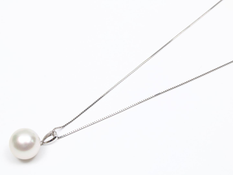 【中古】ジュエリー パール ネックレス レディース K18WG(750) ホワイトゴールド x パール | JEWELRY ネックレス 美品 ブランドオフ BRANDOFF