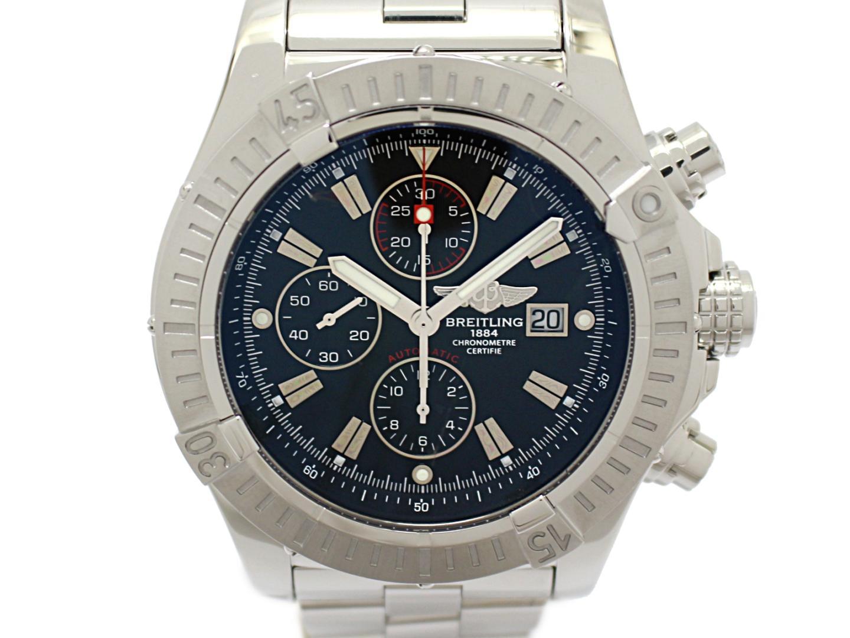 【中古】ブライトリング スーパーアヴェンジャー メンズウォッチ 腕時計 メンズ ステンレススチール(SS) (A337B07PRS)