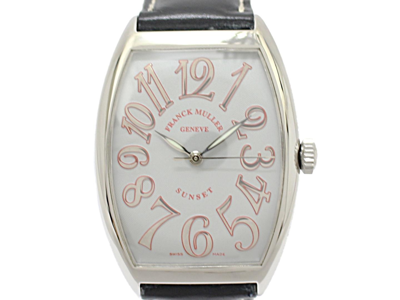 【中古】フランク・ミュラー トノーカーベックス サンセット メンズ ウォッチ 腕時計 メンズ ステンレススチール(SS) (6850)