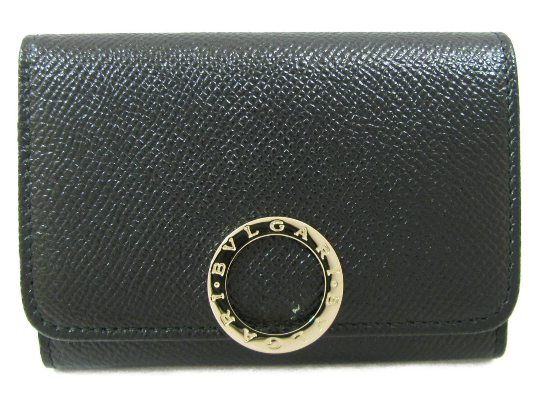 ブルガリ 名刺入れ メンズ レディース 牛革 (カーフ) ブラック (280520) | BVLGARI 名刺入れ 新品 ブランド ブランドオフ