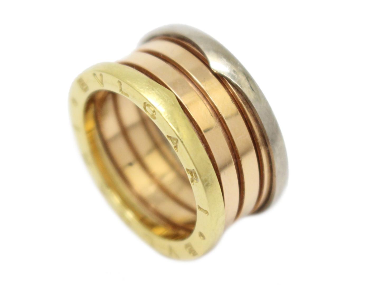 9cfc4b759dbd ... ブルガリB-zero1リングMサイズ指輪ユニセックスK18YG(750) ...