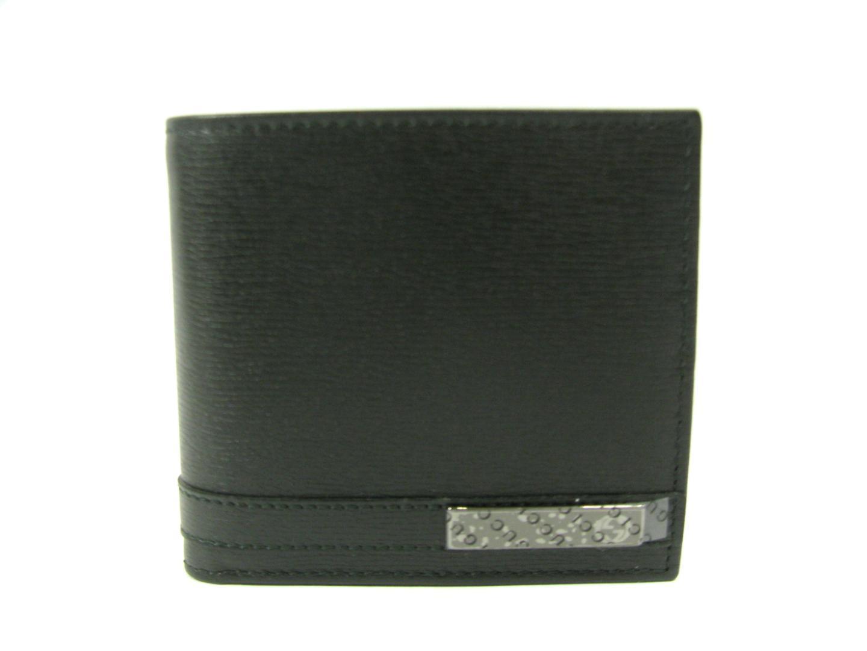 【送料無料】グッチ 二つ折財布 メンズ レザー ブラック (233102ARU0R1000) | GUCCI 財布 二つ折財布(8) 新品 ブランド ブランドオフ BRANDOFF