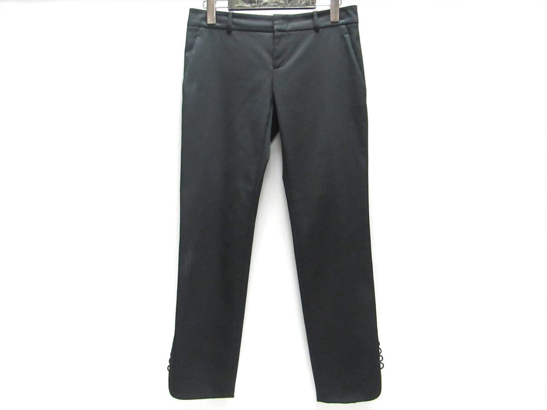 【中古】グッチ パンツ レディース コットン (59%) x その他 (41%) ブラック   GUCCI 衣類 パンツ 美品 ブランド ブランドオフ BRANDOFF