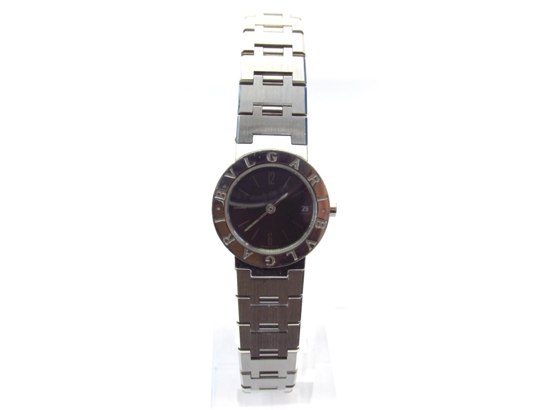 9c33ffa21aa8 【中古】【送料無料】 ブルガリ ブルガリ ブルガリ 腕時計 ウォッチ レディース ステンレススチール (