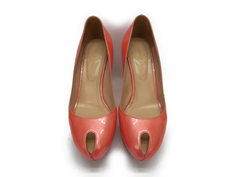 【中古】 セルジオ・ロッシ パンプス レディース エナメル ピンク | sergiorossi くつ 靴 パンプス 美品 ブランドオフ BRANDOFF
