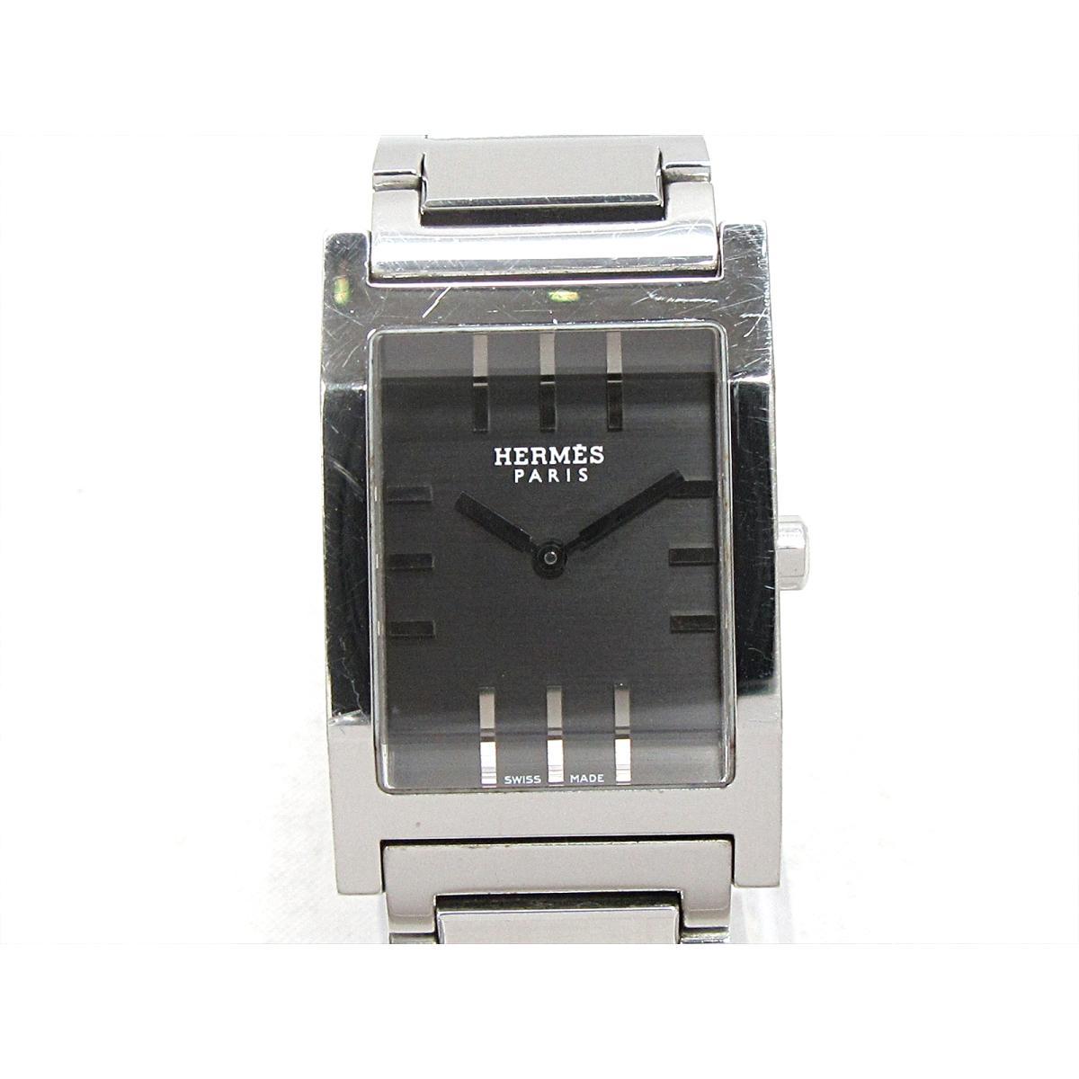 【中古】 エルメス タンデム 腕時計 ウォッチ メンズ ステンレススチール (SS) (TA1.710) | HERMES クオーツ 時計 タンデム 美品 ブランドオフ