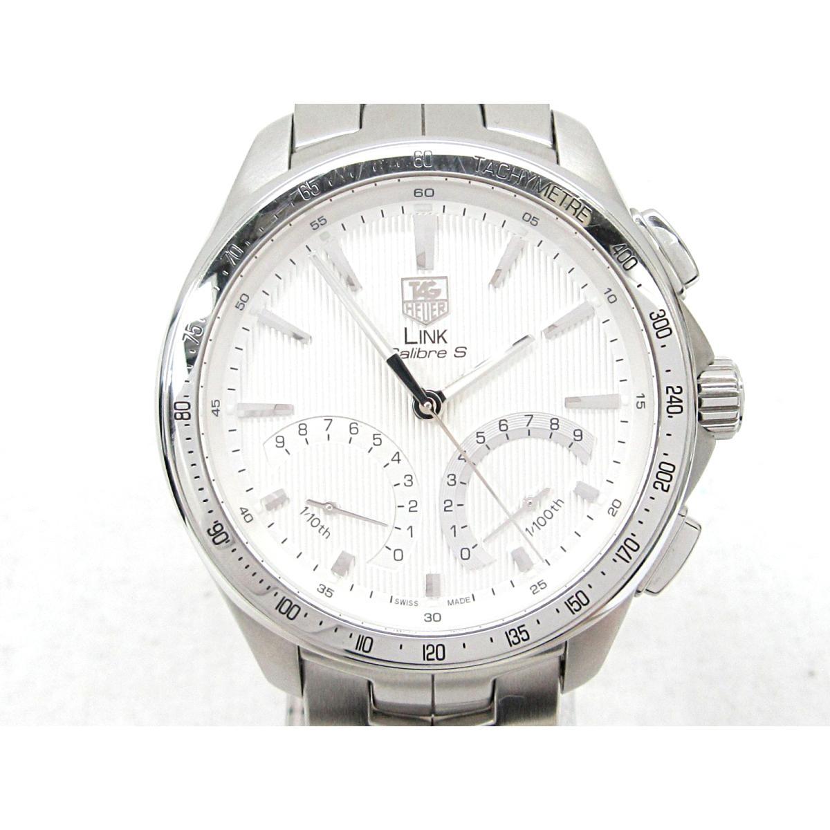 【中古】 タグ・ホイヤー リンク キャリバーS 腕時計 WATCH メンズ ステンレススチール (SS) (CAT7011.BA0952)   TAG HEUER クオーツ 時計 リンク キャリバーS 美品 ブランドオフ