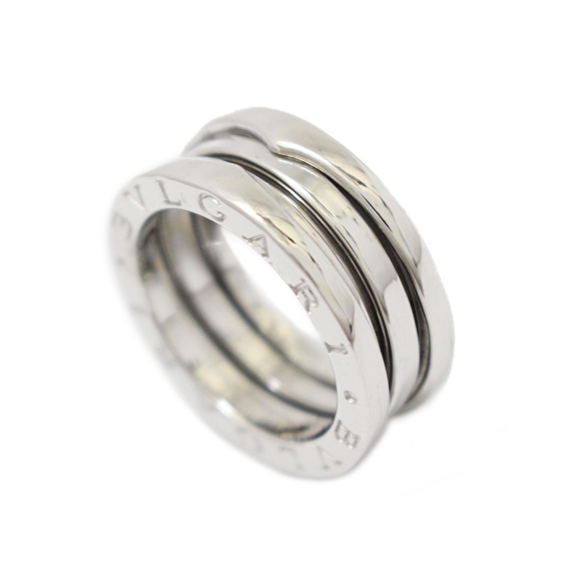 87d3ff735ad0 ... ブルガリB-zero1リング指輪ユニセックスK18WG(750)ホワイトゴールド ...