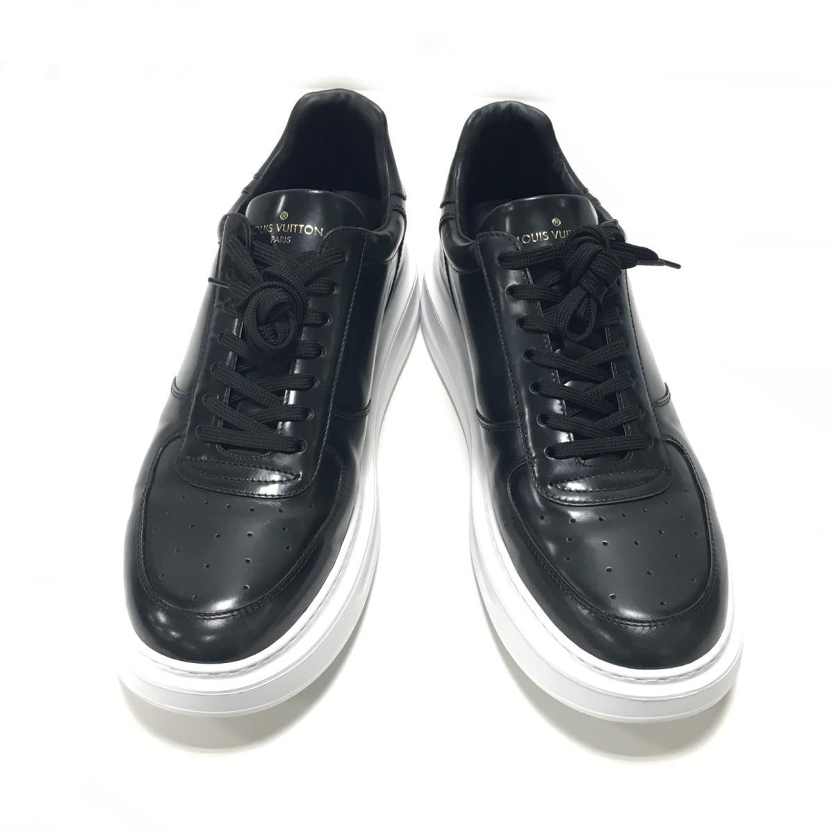 【中古】 ルイヴィトン ビバリーヒルズライン スニーカー 靴 メンズ レザー (1A460T) | LOUIS VUITTON ヴィトン ビトン ルイ・ヴィトン くつ 靴 ビバリーヒルズラインスニーカー 美品 ブランドオフ BRANDOFF