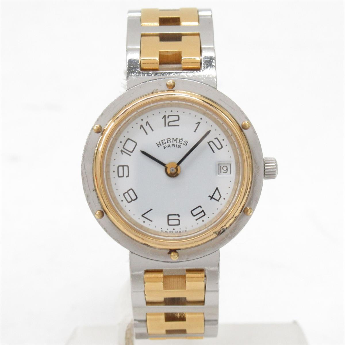 【中古】 エルメス クリッパー 腕時計 ウォッチ レディース GP | HERMES クオーツ 時計 クリッパー 美品 ブランドオフ