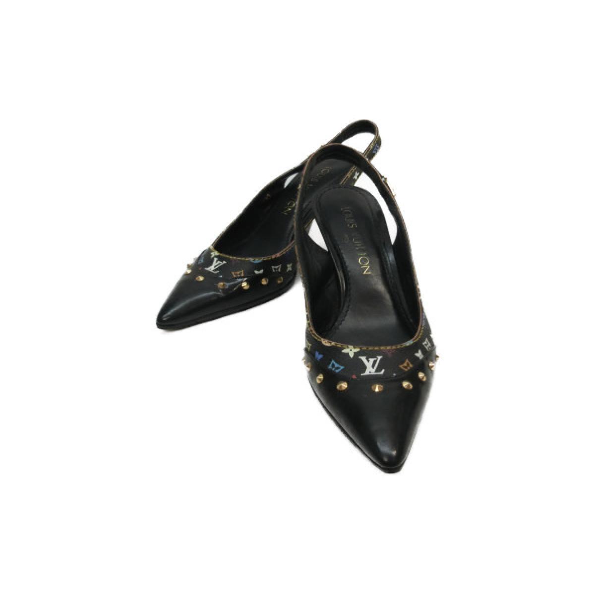 【中古】 ルイヴィトン パンプス レディース モノグラムマルチカラー ノワール マルチカラー | LOUIS VUITTON ヴィトン ビトン ルイ・ヴィトン くつ 靴 パンプス ブランドオフ