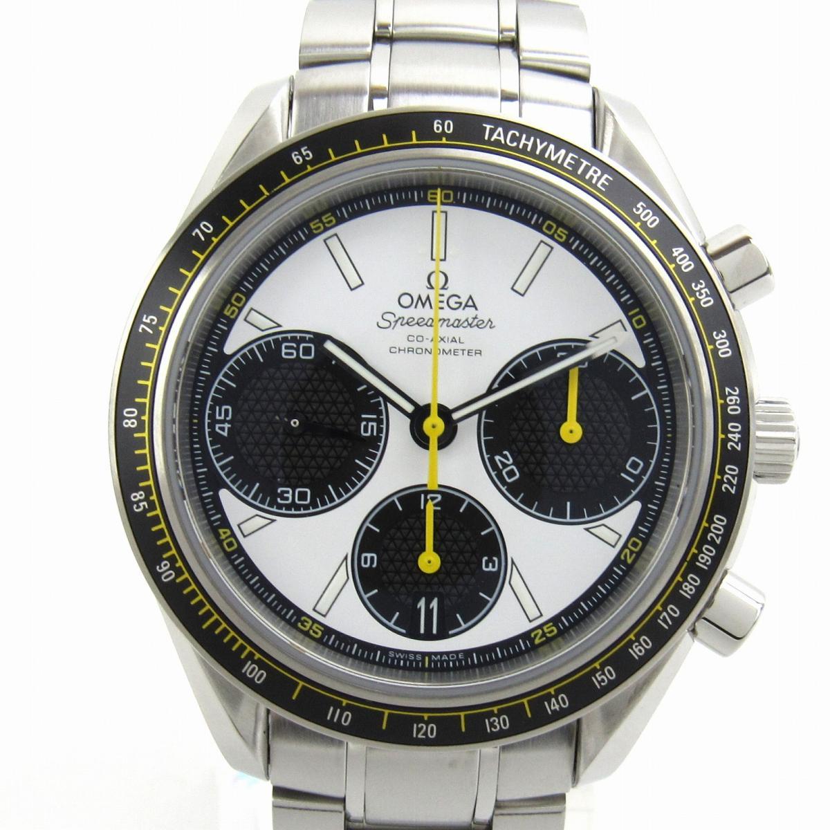 【中古】 オメガ スピードマスター レーシング ウォッチ 腕時計 メンズ ステンレススチール (SS) (326.30.40.50.04.) | OMEGA オートマチック 時計 自動巻き 時計 美品 ブランドオフ