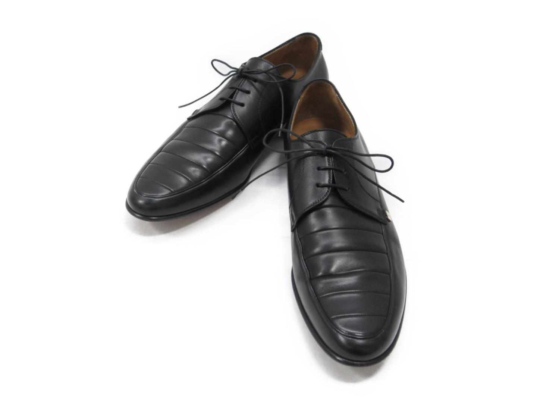 【中古】 ルイヴィトン ビジネスシューズ メンズ レザー ブラック | LOUIS VUITTON ヴィトン ビトン ルイ・ヴィトン くつ 靴 レザーシューズ ブランドオフ