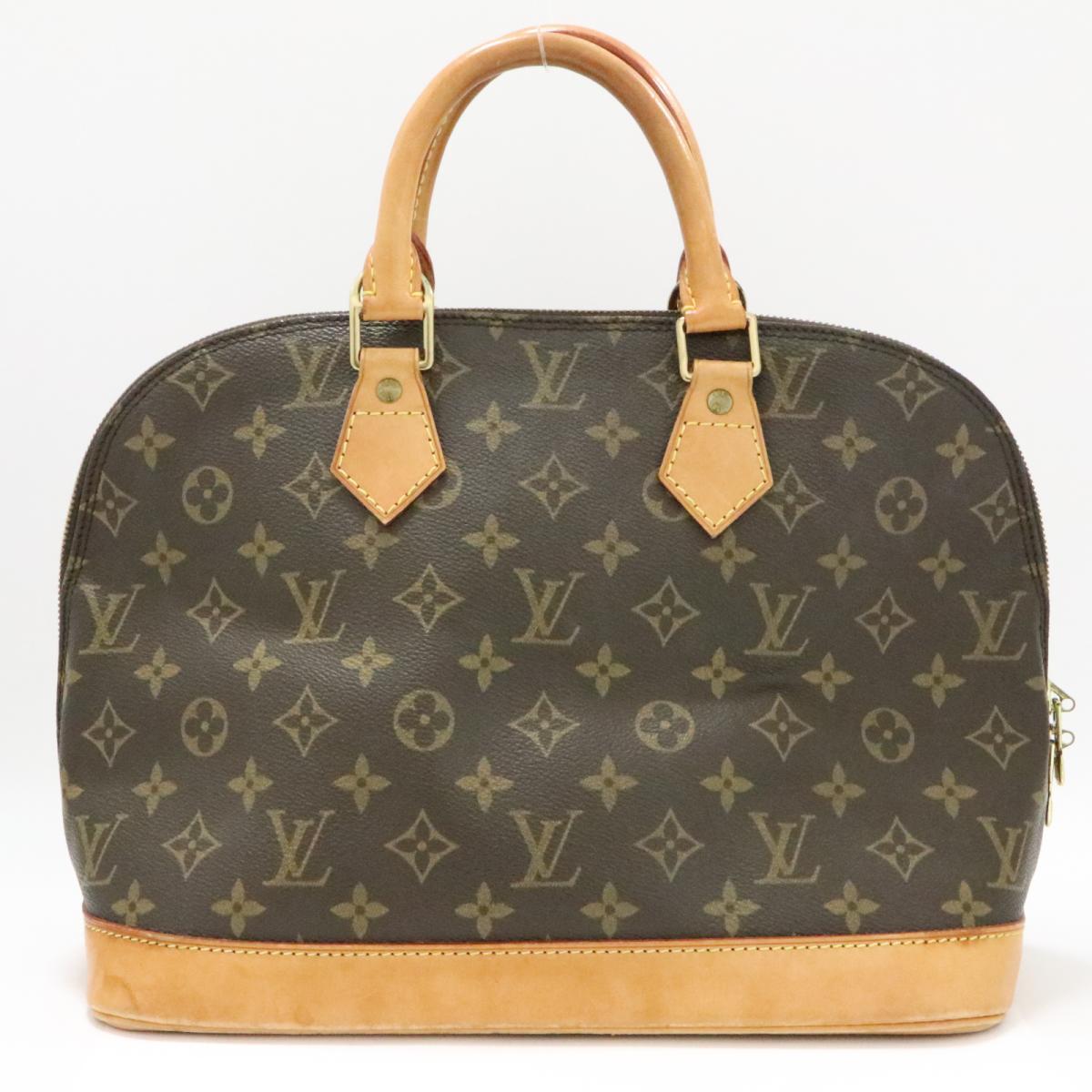【中古】 ルイヴィトン アルマ ハンドバッグ レディース モノグラム (M51130)   LOUIS VUITTON ビトン ヴィトン ルイ・ヴィトン ハンドバック バッグ バック BAG カバン 鞄 ブランドバッグ ブランドバック ブランドオフ