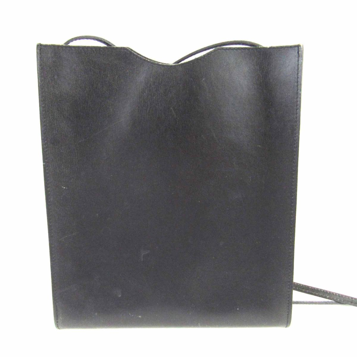 【中古】 エルメス オニメトゥ ショルダーバッグ レディース ボックスカーフ ブラック | HERMES ショルダーバック ショルダー 肩がけ バッグ バック BAG カバン 鞄 ブランドバッグ ブランドバック ブランドオフ