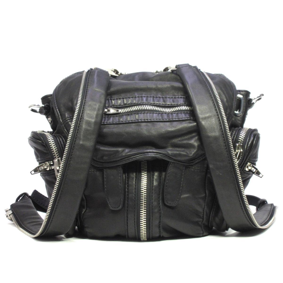【中古】 セレクション Ale x anderWang/3wayバッグ リュックサック メンズ レディース レザー | SELECTION リュック バッグ バック 鞄 カバン BAG ブランドバッグ ブランドバック 美品 ブランドオフ