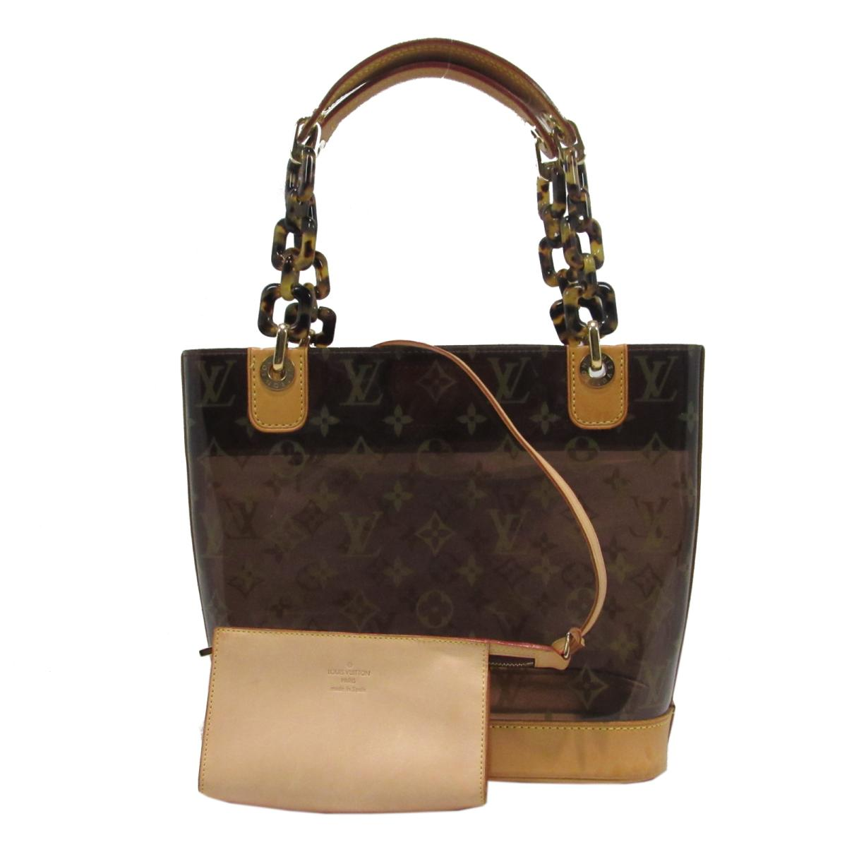 【中古】 ルイヴィトン カバ・アンブルPM トートバッグ ハンドバッグ レディース モノグラム・ビニール (M92502)   LOUIS VUITTON ハンドバック バッグ バック 鞄 カバン ブランドバッグ ブランドバック BAG ブランドオフ