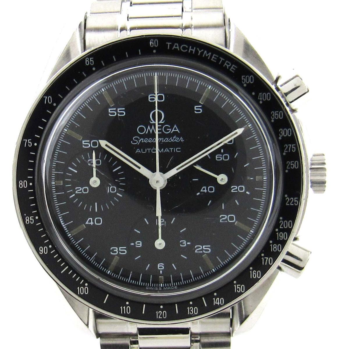 【中古】 オメガ スピードマスター ウォッチ 腕時計 メンズ メンズ ステンレススチール (SS) (351050)   OMEGA オートマチック 自動巻き 時計 スピードマスター 美品 ブランドオフ